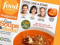 The October Issue of Food Network Magazine is available on newsstands now! #FNMag