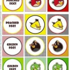 Angry Bird Party Printables