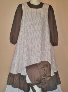 Ready to Ship Pioneer Dress Bonnet and by TmdkHandmadeDesigns, $85.00