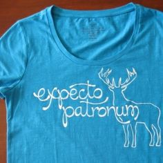 Use freezer paper stenciling to create a custom t-shirt...