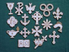Chrismon Patterns for children Christ-monograms Ornaments