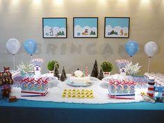 Festa de Aniversário Club penguin