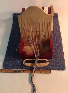 Tape Weaving Loom by crowfeathersfiberart on Etsy, $175.00