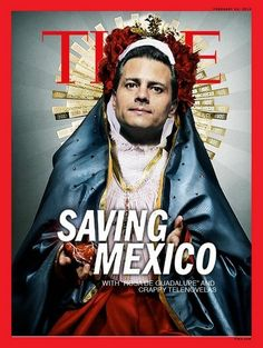 Mexicans respond mockingly to Time Magazine cover story