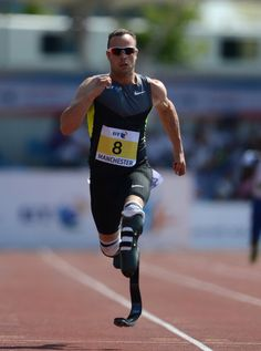 Oscar Pistorius headed to the Olympics  London!
