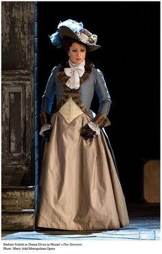 Soprano Barbara Fritolli as Donna Elvira in Mozart's Don Giovanni.