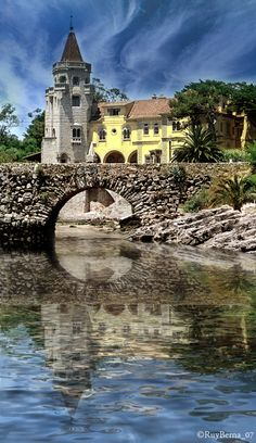Cascais - Portugal. Estoril and Cascais a perfect combo of old world seaside fishing towns, with beautiful ocean cliffs...