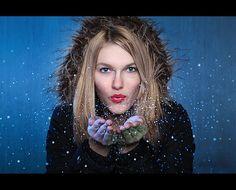 Glitter Portrait: How I Took It