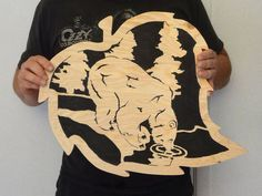 Scroll Saw Patterns To Print | Using A Scroll Saw Pattern #1: The Simple Steps and a Free Pattern ...
