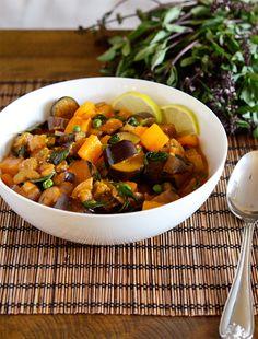 Thai Eggplant Curry