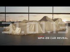 Vodafone McLaren Mercedes MP4-28 car reveal LIVE