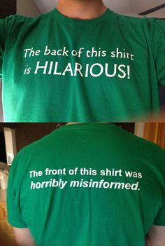 my kind of shirt.