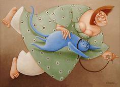 eLBaúL que no tenía mi aBueLa: Ada Breedveld cat art, size art, artistada breedveld, ruben, breedveld artist, illustr, tenía mi, elbaúl
