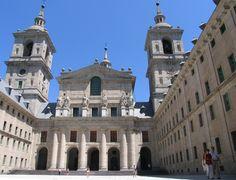 Courtyard of Kings - El Escorial, Spain