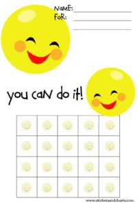 kids behavior sticker chart, behavior charts, printable sticker chart, smiley face, children, thanksbehavior chart, sticker charts for kids, star charts for kids, smileys
