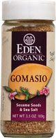Eden Foods Organic Gomasio Sesame Seeds and Sea Salt