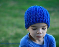 CelticMommy: Free crochet pattern: Rib wrapped cap for children