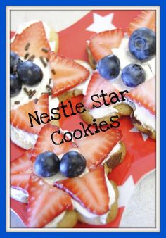 Fourth of July Cookies - fun to do with the kiddos
