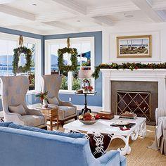 Christmas near the ocean
