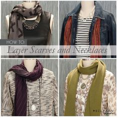 How To: Layer Scarves and Necklaces | Silpada Blog #WomensFashion #Scarves #WinterFashion