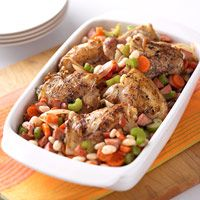 Hearty Chicken and Bean Casserole -Diabetic Living Recipes