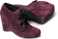 Born Kensi in Chianti suede -- perfect addition to the fall wardrobe.