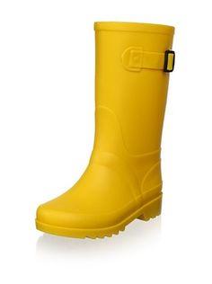 igor Kid's Piter Rain Boot (Yellow)