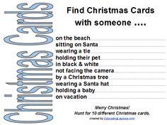 3 free printable Christmas scavenger hunts for kids | educatinglaytons.com