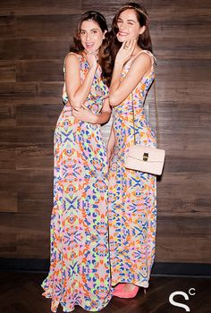 These printed and patterned bridesmaid dresses from Mara Hoffman are great for summer weddings.