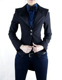 I love the back of this jacket!!