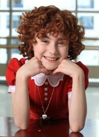 Lilla Crawford is great... I think. Anyway, I'm going to see her on Broadway! Go Annie!
