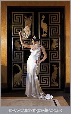 Art Deco fashion shoot