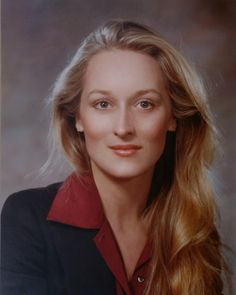 Meryl Streep.. Gorgeous then. Gorgeous now..