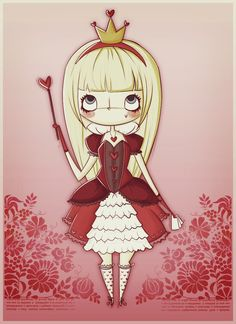 alice as the queen of hearts by ~agusmp on deviantART