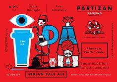 Partizan Brewing - IPA G000-139