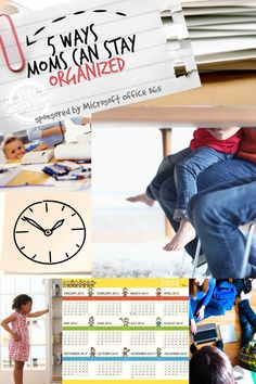5 Ways Moms Can Stay Organized - Kids Activities Blog