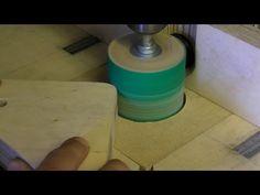 fabricar tambores de lijado para el taladro vertical.