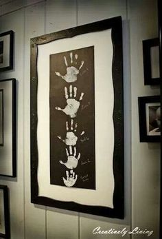 Family Hand prints we are down!!