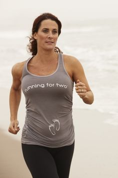 Running for Two - Maternity Running Tanks and Tops - For Two Fitness