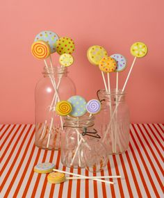 Lollipop Cookies by Elisa Strauss of Confetti Cakes