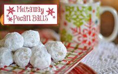 Meltaway Pecan Balls recipe from Worthing Court