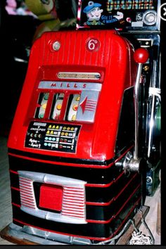 Vintage slots machine, similar to the machine in our new game, Slots Classic
