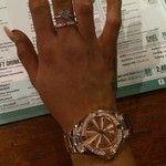#presents off my mum david and aunty lisa emojiemojiemoji️emoji️ #pandora rings and rose gold #seksy watch soo happy