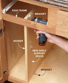 How to add baking pan upright storage your kitchen (and other kitchen storage ideas) #kitchen #organization