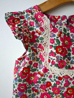 arty bella liberty print dress by Paul+Paula, via Flickr