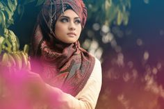 different way to style pashmina