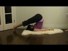 4 Yoga Postures to Improve Sleep - YouTube