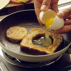 Egg in a Basket, one of my fav breakfasts