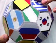 3D Printed Soccer Ball Salutes World Cup