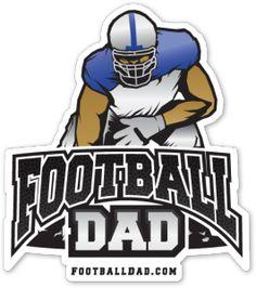 Football Dad Vinyl W